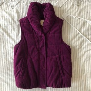 Anthropologie Pilcro Puffer Vest